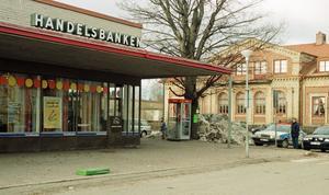 Handelsbanken i Storvik 1998. Bild: Arkiv