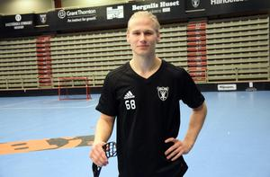 Casper Backby är nyss fyllda 21, men redan inne på sin femte säsong i IBF Faluns SSL-lag.