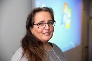 Mia Ericson, docent i beroendemedicin, Göteborgs universitet, tycker inte att man ska dricka energidrycker alls om man är under 18 år. Foto: Bengt Pettersson