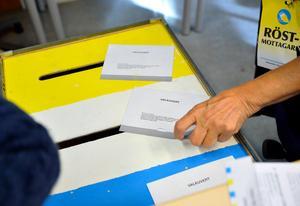 I september är det dags att rösta igen. Foto: Henrik Montgomery/TT