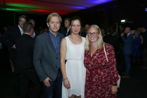 Marcus Bülow, Jessica Scherer och Ina Gärdlund representerade Advokataktiebolaget Gärdlund, och såg fram emot att se andra företagare de känner.