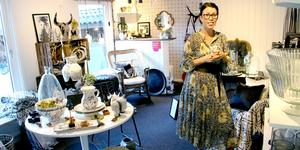 Johanna Blavier förverkligade drömmen och öppnade en egen inredningsbutik hemma på gården.