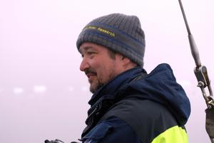 Historieprofessorn Dag Avango är den som ska leda den svenska delen av den kommande Antarktisexpeditionen. Foto: Pressbild