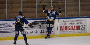 Anton Ekström gav IFK Arboga nytt hopp med sin 1–2-reducering. Men det hjälpte föga mot Strömsbro.