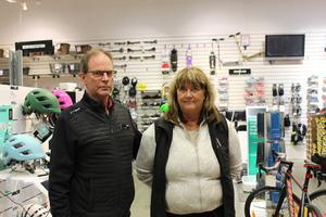 Sportringens ägare Göran Eklund och Anneli Eklund är lättade över att ha hittat nya lokaler.