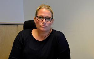 Veronica Andersson, gruppchef för avdelningen för grova brott vid polisen i Västernorrland.