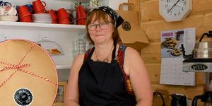Under sommaren håller Elisabet Gröning caféet öppet varje helg.