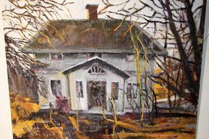 Ödehus är också något som Ulla Zimmerman vill fånga in i sin bildvärld.