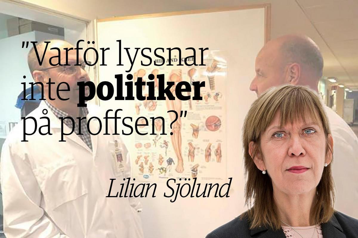 a9ee398f3b2 Sjölund: Sjukvården som viktigaste valfråga – varför struntar du då i vem  du röstar på?