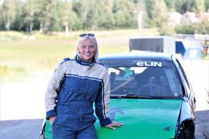 Elin Nilsson tävlar för SMK Hälsinge.