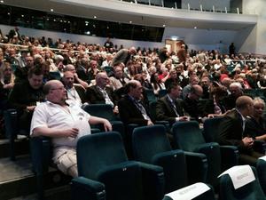 Sverigedemokrater från hela landet har samlats på ACC i helgen.