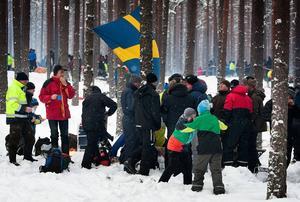 Närmare 5000 personer väntas följa specialsträckorna i Fredriksberg på plats.