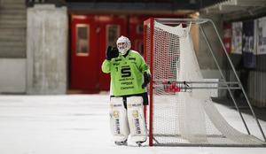 Joel Othén i kvartsfinal 5 mellan SAIK och VSK.