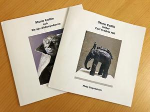 Mats Sagnestam har fotograferat och skrivit inledningen i skrifterna om Sture Collins skulpturer.