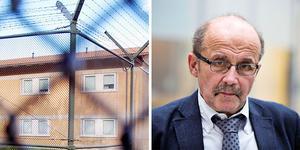 Gävleanstalten och åklagaren Christer Sammens. Foto: Mathias Forslöf och Tony Persson