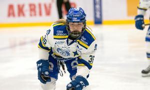 Andrine Furulund gjorde kvällens första mål för Leksand.