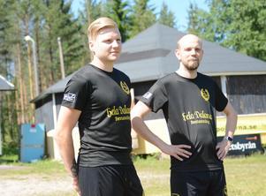 Kalle Matsson och Marcus Hofvander har varit med sen första säsongen.