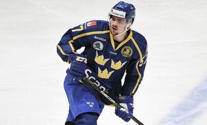 Emil Djuse fick debutera i Tre Kronor i fjol.