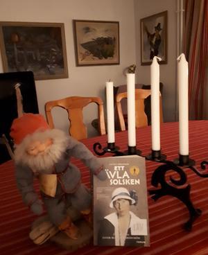 Lagom till jul är boken färdigläst