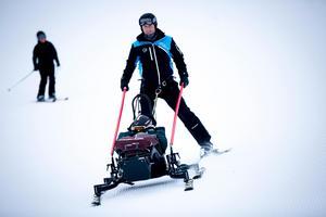 Anders Olsson hoppas att fler tar licens så att skicarten kan användas ofta.