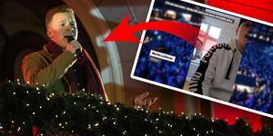 Martin Luthman vann tävlingen om att få sjunga på Lyslördag.