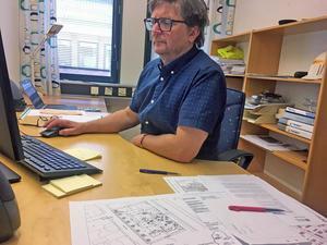 Per-Erik Nilsson ser positivt på att man nu har ett sammanhängande stamnät  att bygga vidare på.