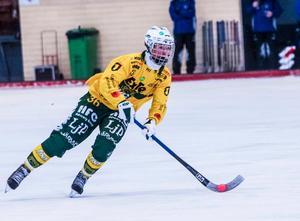Edwin Nilsson, ett av Ljusdals två nyförvärv.