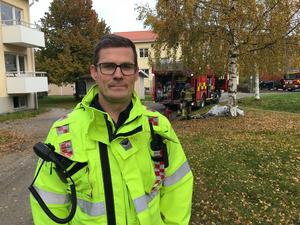 Magnus Umegård. räddningsledare.
