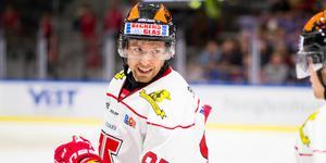Kalle Olsson sägs bli kvar i Örebro Hockey. Bild: Ola Westerberg/Bildbyrån