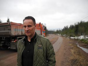 Ove Jadehov i Olsbacka var en av de privatpersoner som inledde protesterna mot den planerade avfallsanläggningen.