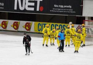 Vetlanda var laget som fick jubla i ABB Arena.