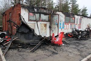 Det var i maj som Centrumkiosken brann ner. Ett par månader senare brann också Lantgrillen, ett stenkast bort.