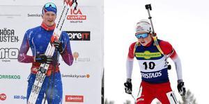 Edvin Anger och Oscar Andersson är två av fem nya dalanamn i truppen till ungdoms-OS. Totalt är 12 av 51 aktiva i den svenska truppen från dalaklubbar. Foto: Arkiv