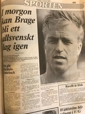 Ur Falu-Kuriren den 17 oktober 1992.