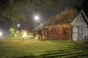 Luddes stuga på hembygdsgården i Nynäshamn får nytt liv under