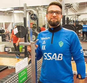 Kayhan Kavakli, assisterande coach till Klebér Saarenpää samt fystränare för Brage.