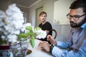 Frida Demervall och hennes make Magnus har starka band till Centerpartiet.