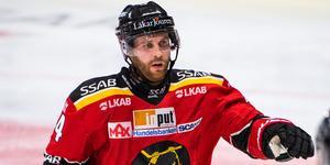 Mattias Guter i Luleå-tröjan. Nu ansluter han till Djurgården.