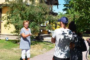 Ingerid Manneteg är utbildad länsguide och projektledare för Mora stadsvandring.