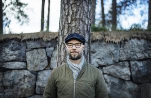 Sven Olov Karlsson, författare, aktuell med ny novellsamling med klassperspektiv. Foto: Moa Karlberg