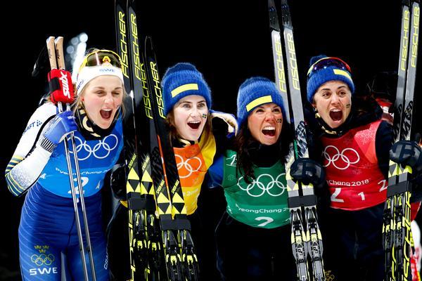 Stina Nilsson, Ebba Andersson Charlotte Kalla och Anna Haag är alla med i truppen till Falun.