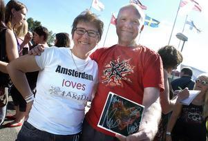 Fans från hela Europa letade sig till Ljungaverk.
