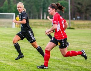 Elin Eriksson (hemvändare från Iggesund) satte dit kvitteringen till 2–2 med bara minuter kvar av hemmamatchen mot topplaget Edsbyns IF.