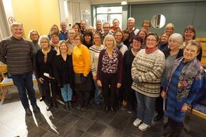 Kyrkokörerna Rödökören och Alsen-Offerdals kyrkokör sätter upp sitt