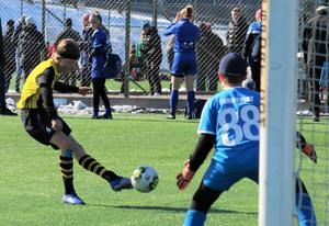 Matchbild från Selånger vårcup.