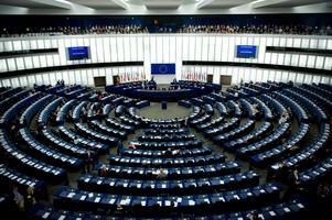 EU-parlamentet i Strasbourg, Frankrike.  Foto Robert Henriksson.