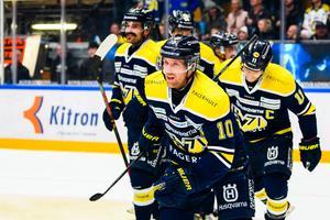 Simon Önerud avgjorde för HV. Foto: Bildbyrån