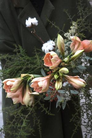 Trenden med aprikosa blommor hänger i och vi på Pralinredaktionen har i alla fall inte tröttnat!