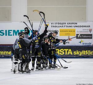 Gripen tippas gå hela vägen till ett elitseriekval i vår. Bild: Hans Löfgren/Gripen Trollhättan BK