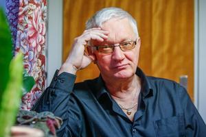 """""""Jag tycker S:et i RSMH är jätteviktigt"""", säger Tore Hansson. Det står för """"social"""". Och RSMH i Backe är sedan 20 år en viktig mötesplats för människor där de får tillgång till ett större livssammanhang."""